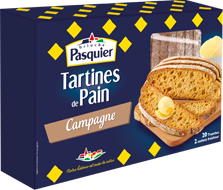 Tartines de Pain Campagne