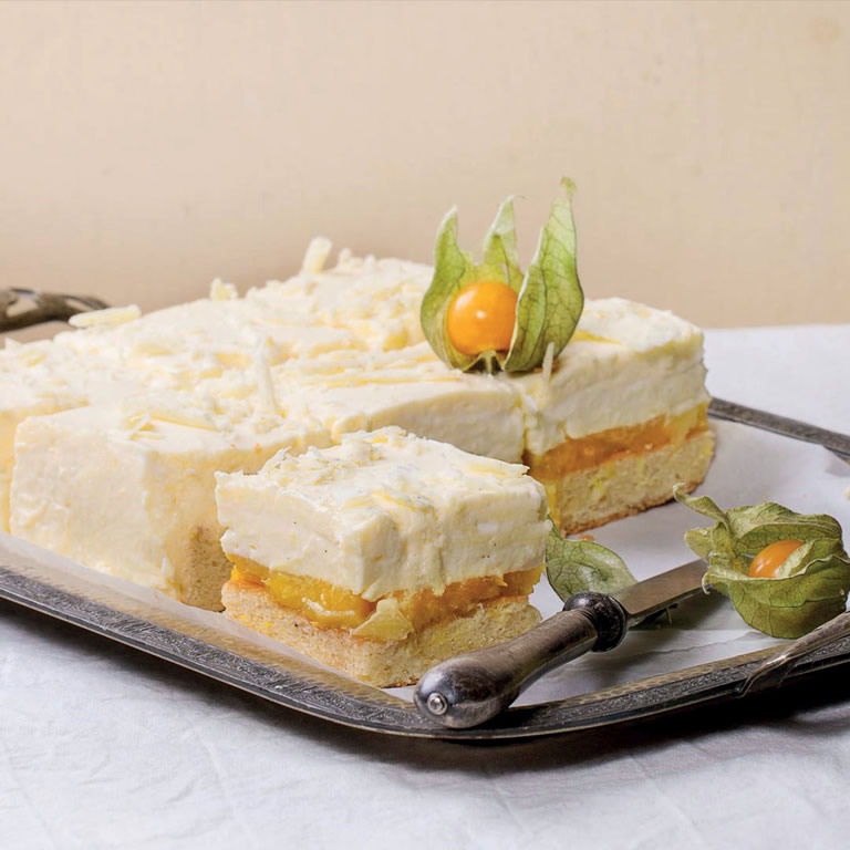 Passion cheese-cake