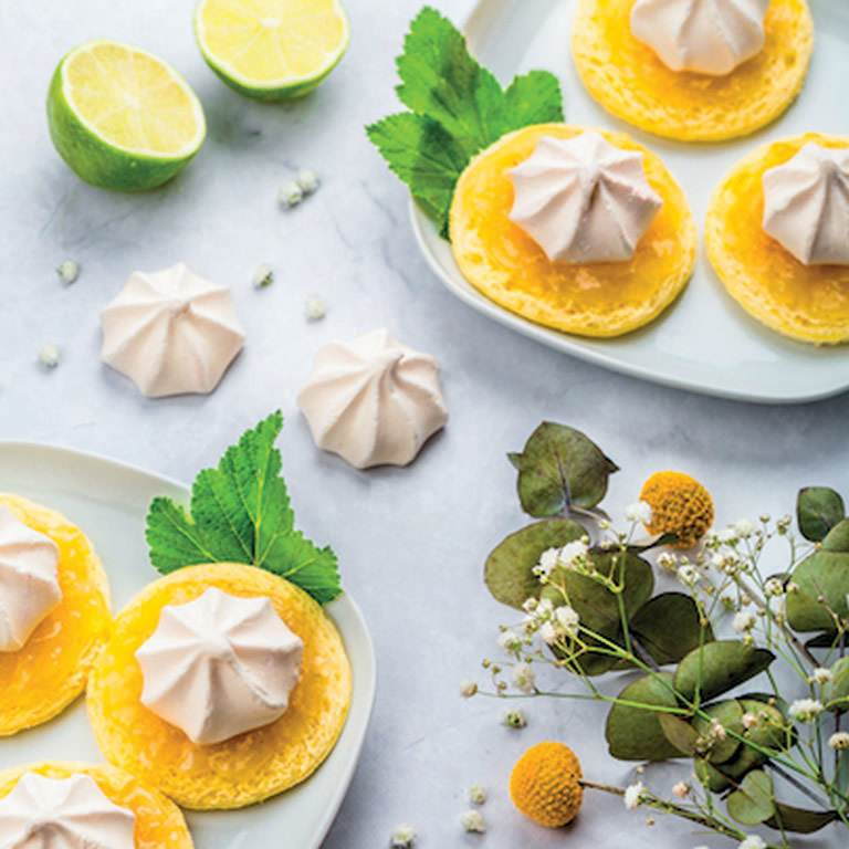 Tartine citron meringuée
