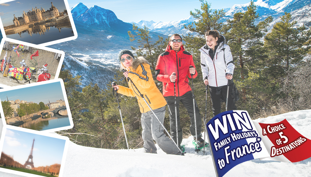 Win a Trip To France Competition